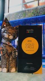 アゴダ「ゴールドサークルアワード2019」受賞しました!