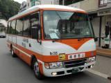 旅館共通送迎バスの運行状況について